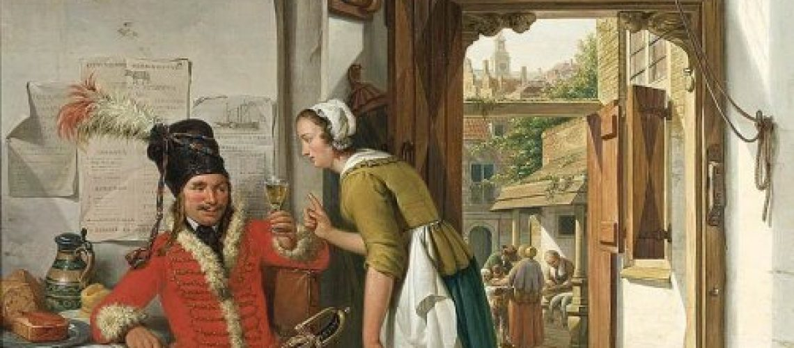 Abraham-van-I-Strij-Interieur-van-een-herberg-i22065
